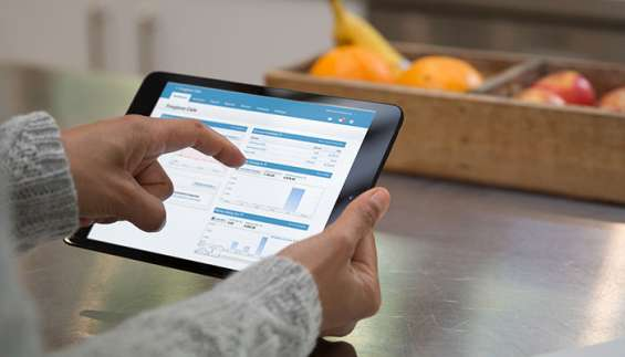 Management of accounts with xero accounting software