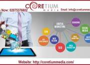 Coretium media ppc management services london
