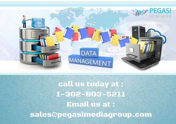 Data management services in uk/usa/canada