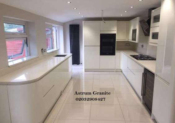 Pictures of Buy crema quartz kitchen worktop at best price in uk 3