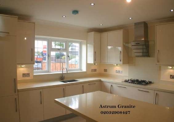 Pictures of Buy crema quartz kitchen worktop at best price in uk 2