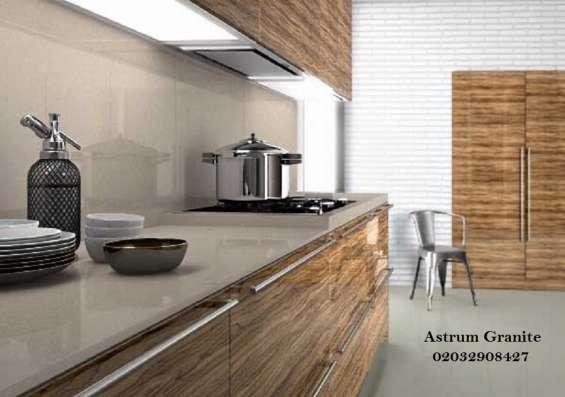 Pictures of Buy crema quartz kitchen worktop at best price in uk 8