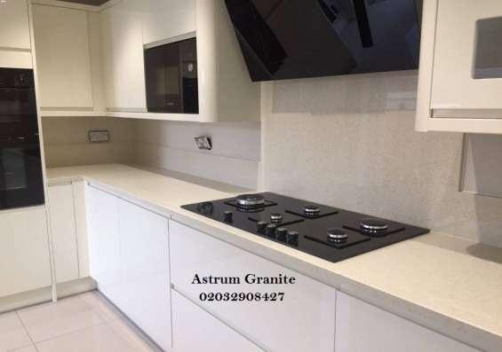 Pictures of Buy crema quartz kitchen worktop at best price in uk 7