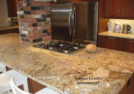 Pictures of Buy crema quartz kitchen worktop at best price in uk 10