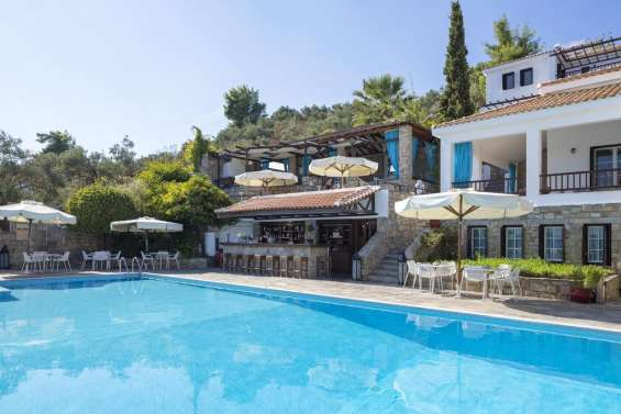 Luxury skiathos beach escape from £829pp – save up to 43 percent