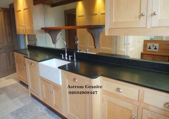 Pictures of Bianco eclipse granite kitchen worktop at affordable in london 3