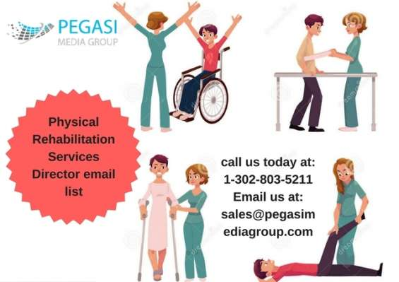 Physical rehabilitation services director email list in uk/usa/canada/germany/italy