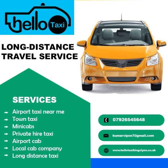 Looking for an airport taxi near me in west norfolk?