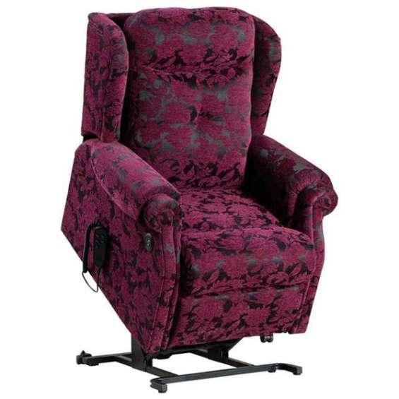 Kingsman dual motor riser recliner armchair