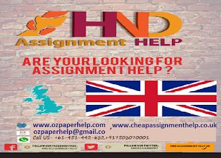 Hnd assignments   online assignment help