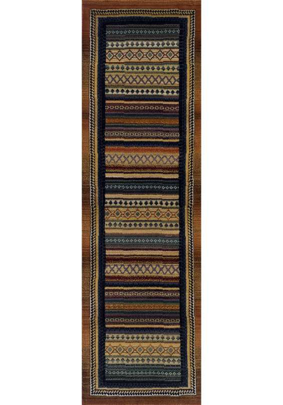 Gabbeh rug by oriental weavers design 933 r (runner)