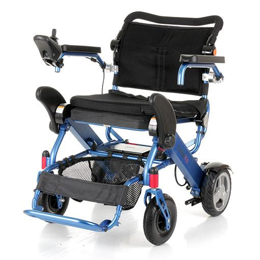 Foldalite foldable lightweight electric wheelchair