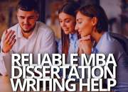 MBA Dissertation Writing Help At Affordable Prices