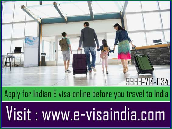 Apply for indian e visa online before you travel to india