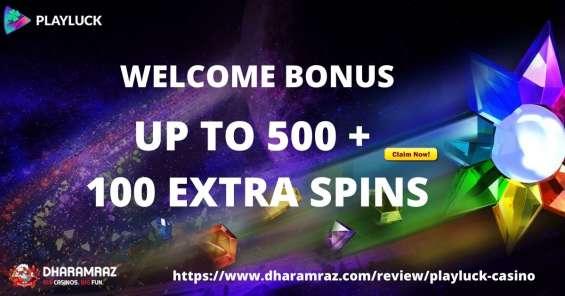 Playluck casino bonus 2021